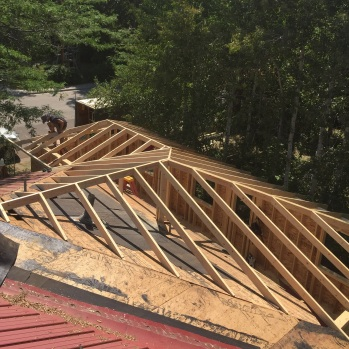 Roof Framing for New House Addition