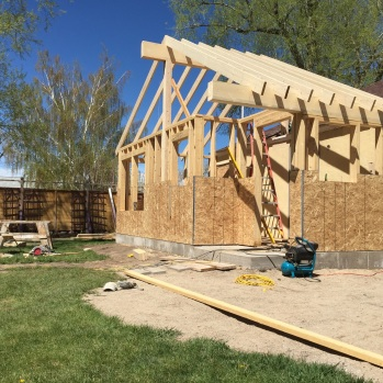 New House Addition - Framing